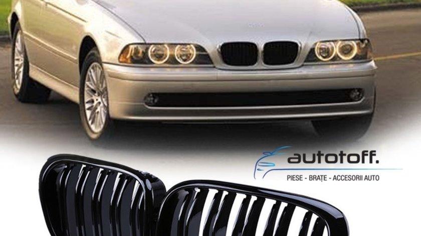 Grile M5 bmw E39 duble negru lucios