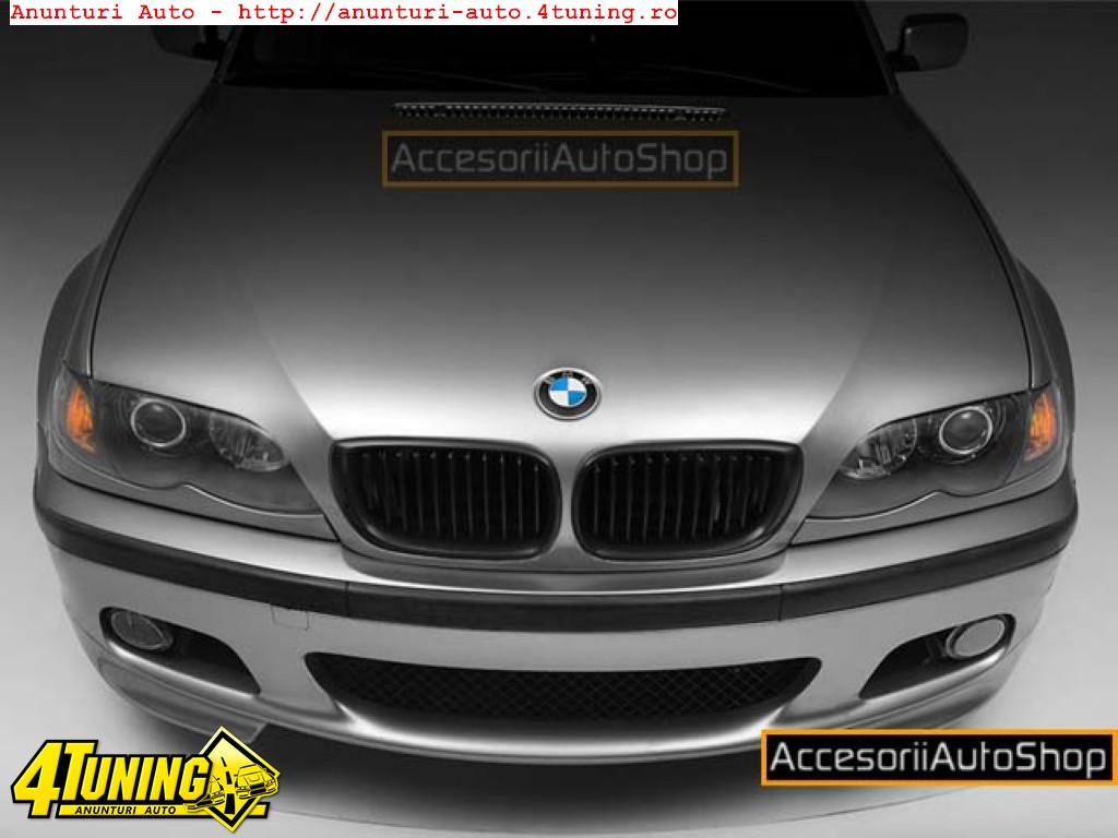 Grile Negre BMW E46 4usi Facelift