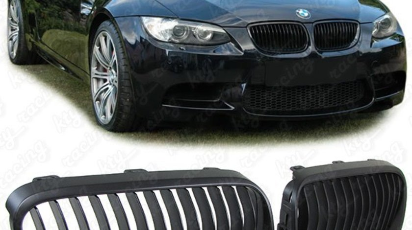 Grile Negre BMW E92 Coupe  M3 LCI 2010-2013 Facelift