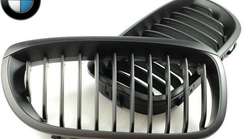 Grile negre BMW Seria 3 E46 coupe si cabrio 03-05 (facelift)