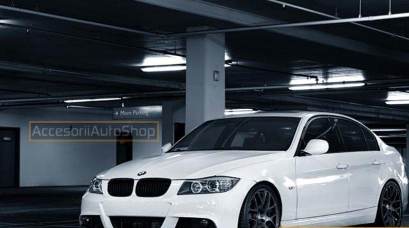 Grile Negre BMW Seria 3 E90 E91 Facelift