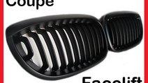 Grile negre radiator capota BMW e46 coupe cabrio F...