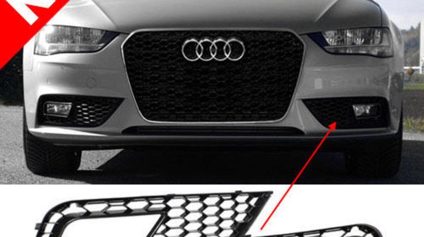 Grile proiectoare RS look AUDI A4 B8.5 FACELIFT