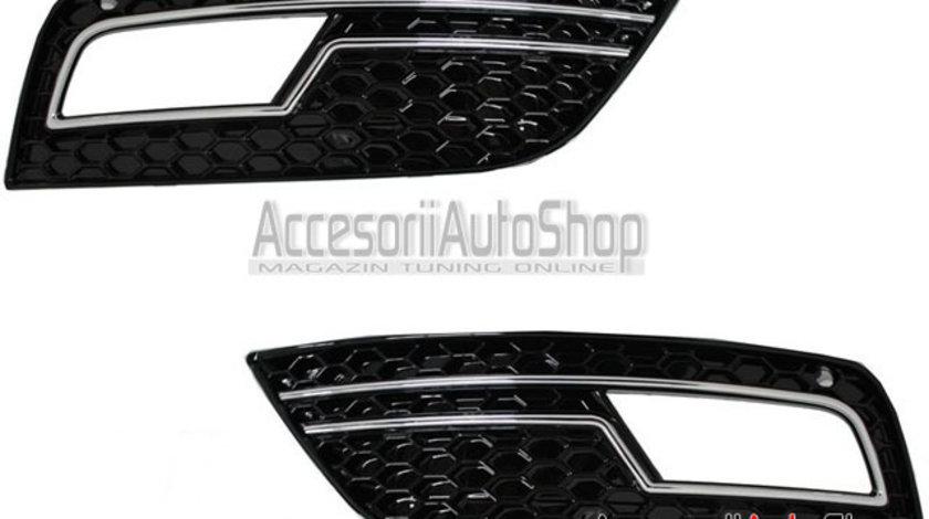 Grile proiectoare RS4 A4 B8 Facelift 2012+