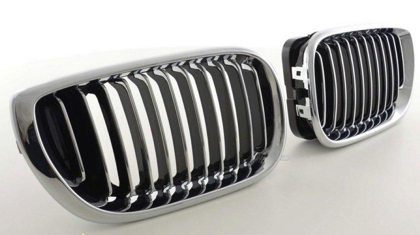 GRILE RADIATOR PENTRU BMW E46 - GRILE BMW E46 FACELIFT