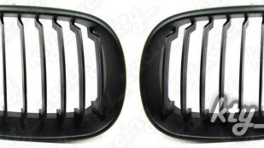 Grile sport negru mat BMW Seria 5 E60 (2004-2011)