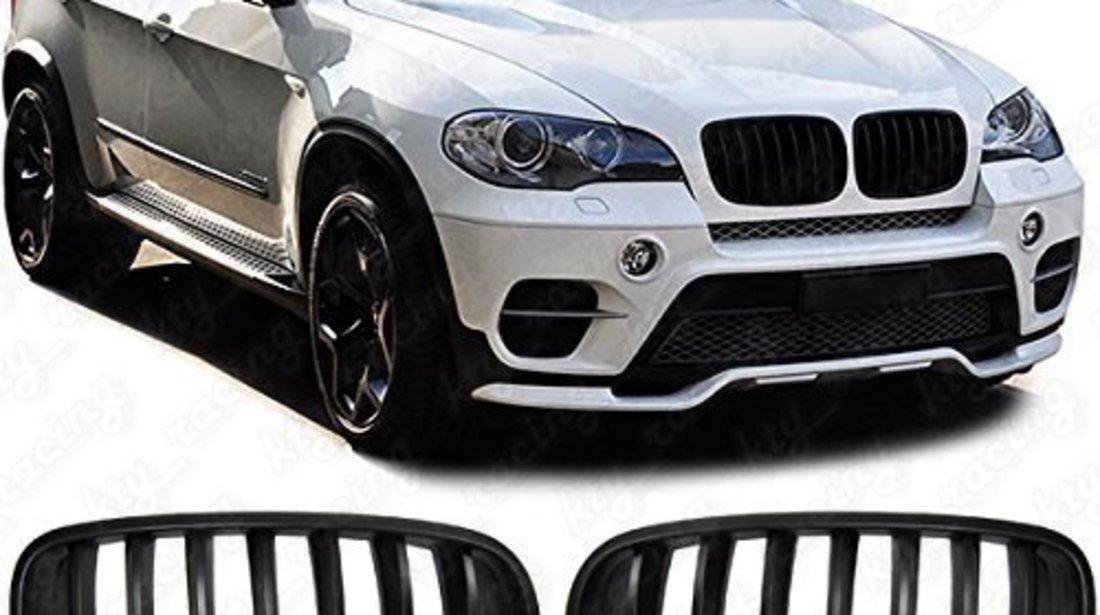 GRILE X5 X6 BMW E70 E71 CULOARE NEGRU MAT