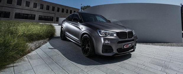 Griul mat si fibra de carbon fac minuni in cazul noului BMW X4