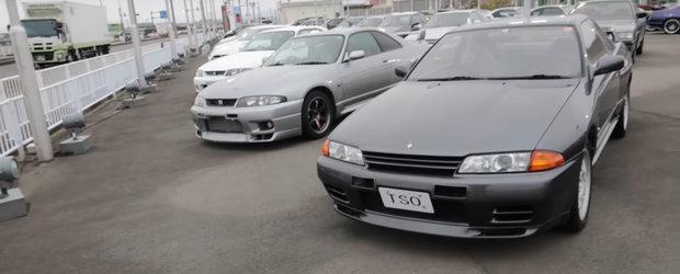 GT-R cat vezi cu ochii. O reprezentanta din Japonia vinde sute de Nissan-uri Skyline,  unele chiar foarte rare