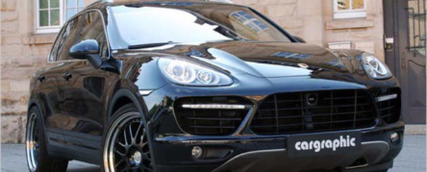 Guess who's back: Porsche Cayenne by Cargraphic