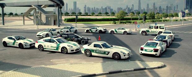 Gymkhana 8: nebunie in stilul lui Ken Block printre masinile de politie din Dubai