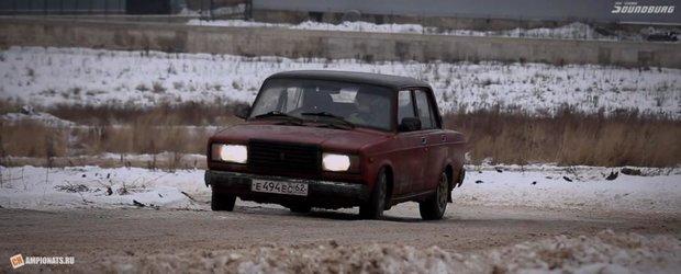 Gymkhanskova: drifturi low-cost pe timp de iarna