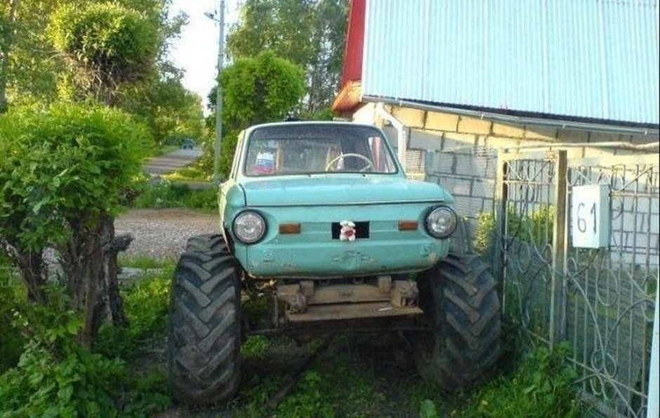 Halloween auto made in Rusia