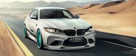 Hamann a publicat mai multe poze cu pachetul de tuning destinat BMW-ului M2