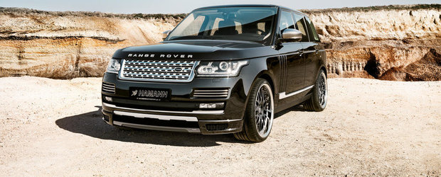 Hamann isi incearca din nou norocul cu ultimul Range Rover