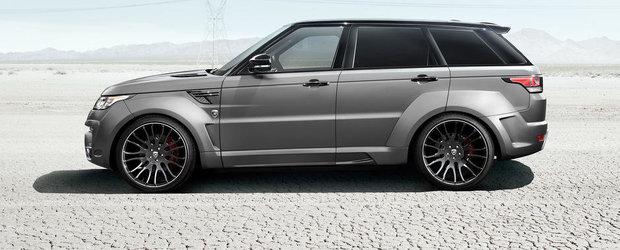 Hamann modifica radical noul Range Rover Sport