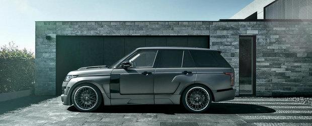 Hamann updateaza versiunea Mystere a noului Range Rover