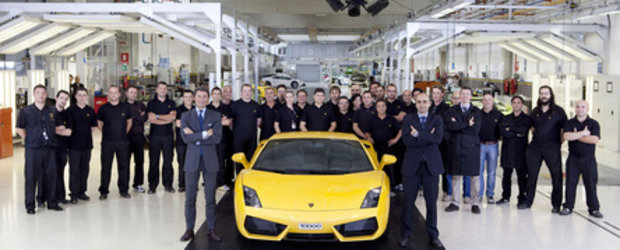 Happy Birthday: Lambo Gallardo implineste 10.000 exemplare