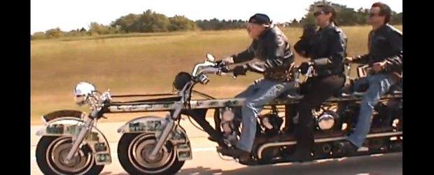 Harley-ul de 10 persoane exista si e functional