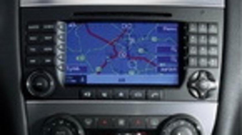 Harta Mercedes NTG2 A/B/C/CLK DVD Navigatie Europa + ROMANIA 2018