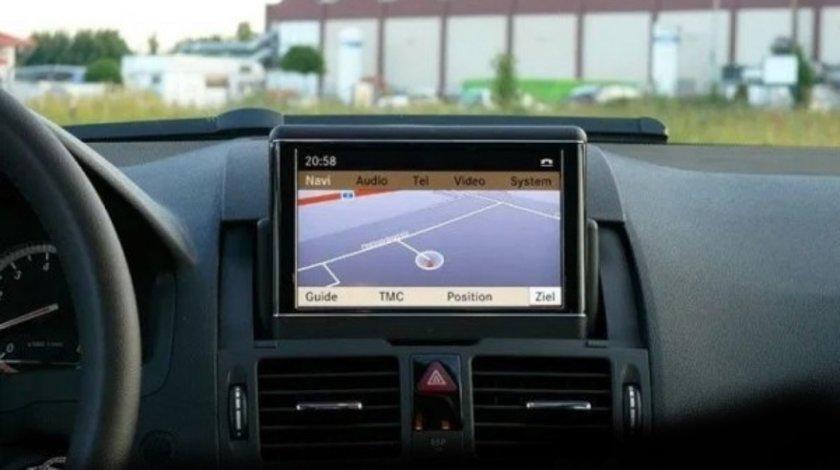 Harta Mercedes NTG2 A/B/C/CLK DVD Navigatie Europa + ROMANIA 2019 V20