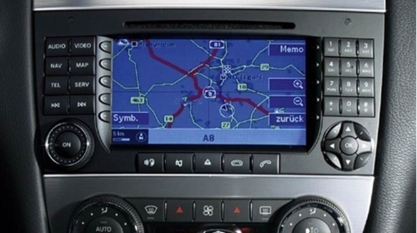 Harta navigatie 2018 pentru Mercedes Comand aps NTG2 Europa + Romania 2018