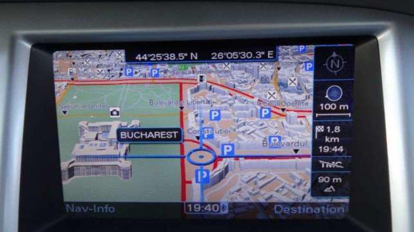 Harta navigatie Audi MMI 3G DVD si HDD Europa + ROMANIA 2018