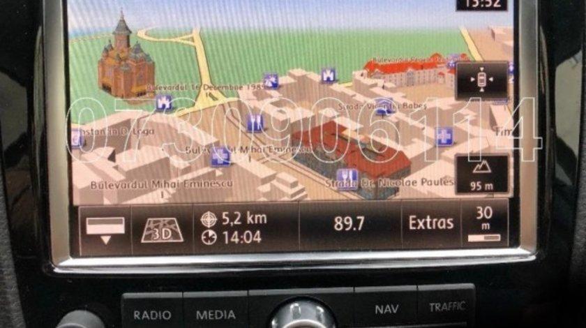 Harta navigatie VW TOUAREG RNS850 Audi MMI 3G Plus Romania 2020