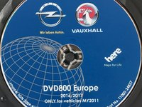 HARTA ROMANIA PENTRU OPEL INSIGNIA ASTRA J CU DVD800 CD500 NAVI VERSIUNEA 2017