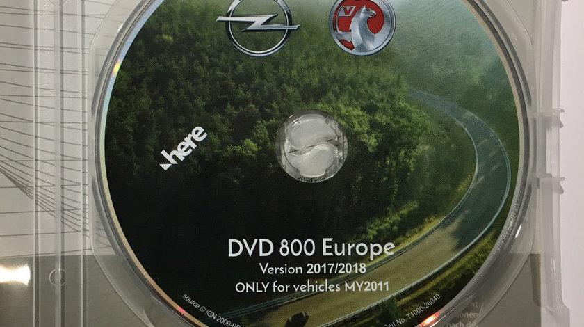 HARTA ROMANIA PENTRU OPEL INSIGNIA ASTRA J CU DVD800 CD500 NAVI VERSIUNEA 2018