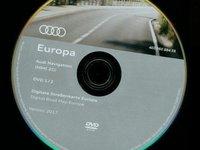 Harti navigatie AUDI A4 A5 A6 A8 Q7 AUD MMI HIGH DVD 2017