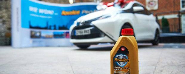 Havoline sarbatoreste lansarea uleiului de motor ProDS oferind o calatorie VIP la Londra si o masină noua