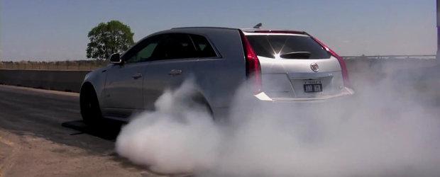Hennessey CTS-V Sport Wagon - Burnout inspirational