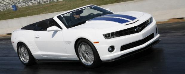 Hennessey dezvaluie noul HPE600, un Chevy Camaro topless de 602 CP!