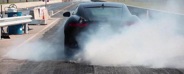 Hennessey Performance se lauda cu primul Jaguar F-Type R modificat