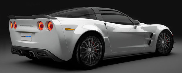 Hennessey propune pachete de performanta chiar si de 1100cp pentru noul Corvette C7