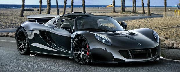 Hennessey Venom GT i-a 'luat' titlul lui Bugatti Veyron: a atins 435,31 km/h