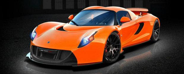 Hennessey Venom GT: O noua versiune, pana la 1.500 cai putere