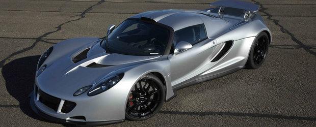 Hennessey Venom GT se declara cea mai rapida masina din lume, peste Bugatti Veyron SS