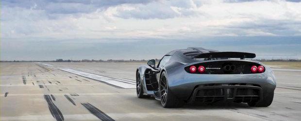Hennessey Venom GT stabileste un nou record de viteza: 0 - 300 km/h in 13.63 secunde!
