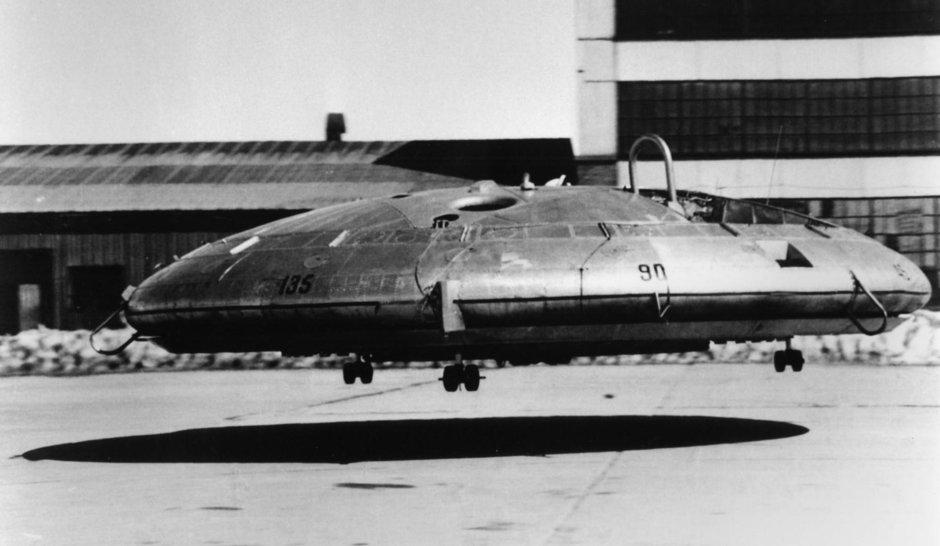 Henri Coanda si proiectul de $10 milioane: 'masina' OZN Avrocar din 1959