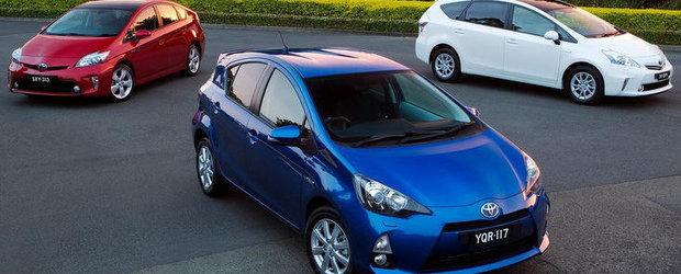 Hibrizii Toyota si Lexus s-au vandut in peste 4 milioane de exemplare