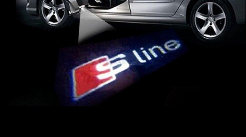 Holograma Logo Usa Audi S-Line