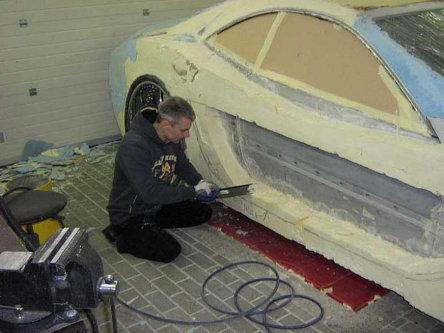 homemade tuning mercedes cl si spuma poliuretanica. Black Bedroom Furniture Sets. Home Design Ideas