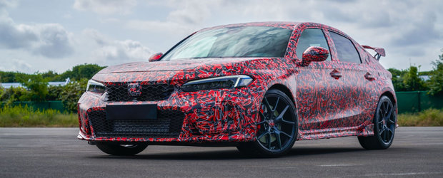 Honda a publicat acum primele poze si detalii oficiale: acesta este noul Civic Type R!