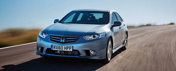 Honda Accord Sedan Facelift 2012 se lanseaza in Romania