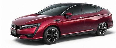 Honda anunta prima sa masina de serie alimentata cu hidrogen
