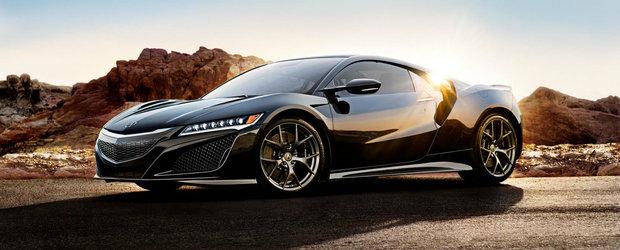 Honda anunta specificatiile noului NSX. Cati CP ofera supercarul japonez?