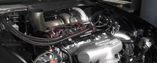 HONDA asta face suta in 1.2 secunde. Motorul cu patru cilindri dezvolta 1.500 de cai putere