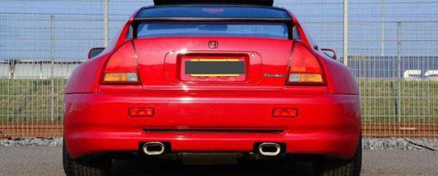 Honda ASTA super-lata are motor de 2.3 litri si se vinde la pret de Dacie